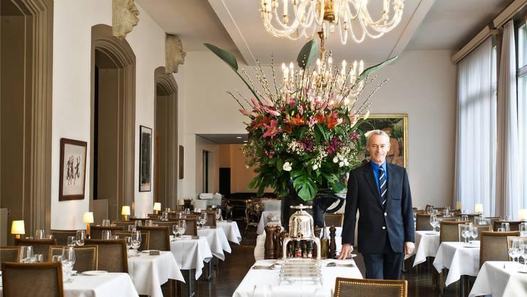 Christian Vultier vom Restaurant Kunsthalle kann seine Gäste jetzt im renovierten Lokal empfangen. (Archiv)