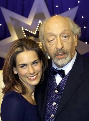 Karl Dall zusammen mit seiner Tochter Janina.