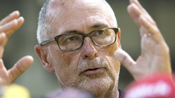 Stellte sich bedingungslos hinter sein Team mit Captain Stephan Lichtsteiner: SFV-Präsident Peter Gilliéron