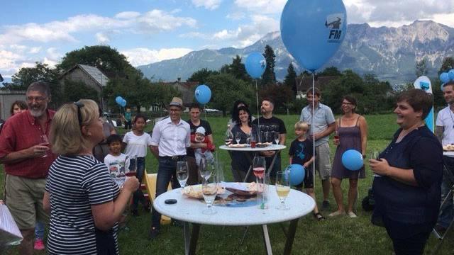 Die FM1 Grillparty war für Katerina aus Grabs das perfekte Geburtstagsgeschenk