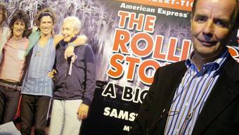 2006 hat André Béchir (rechts) die Rolling Stones zu einem Konzert auf dem Militärflugplatz Dübendorf geholt. Die guten alten Zeiten solcher Veranstaltungen seien vorbei, sagte er im Juli 2017 in einem Mediengespräch. (Archiv)