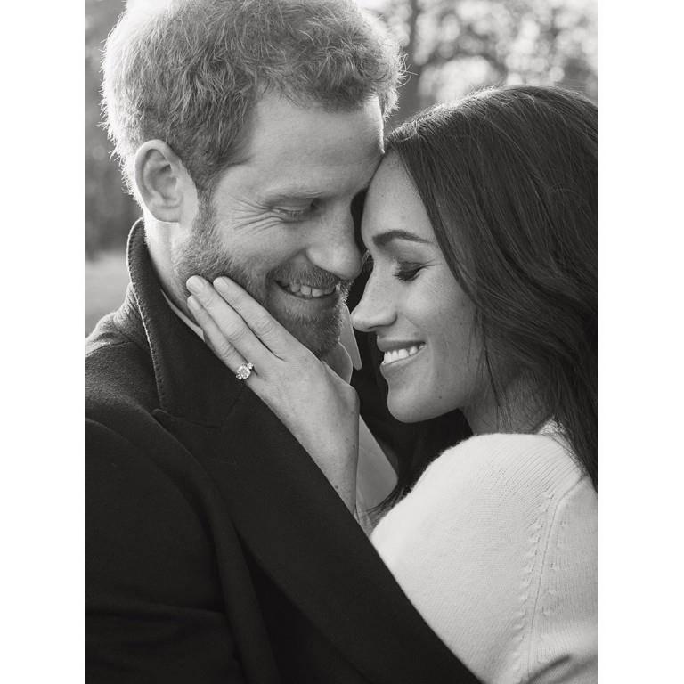 Verlobung Prinz Harry (© Twitter/Kensington Palace/Alexi Lubomirski)