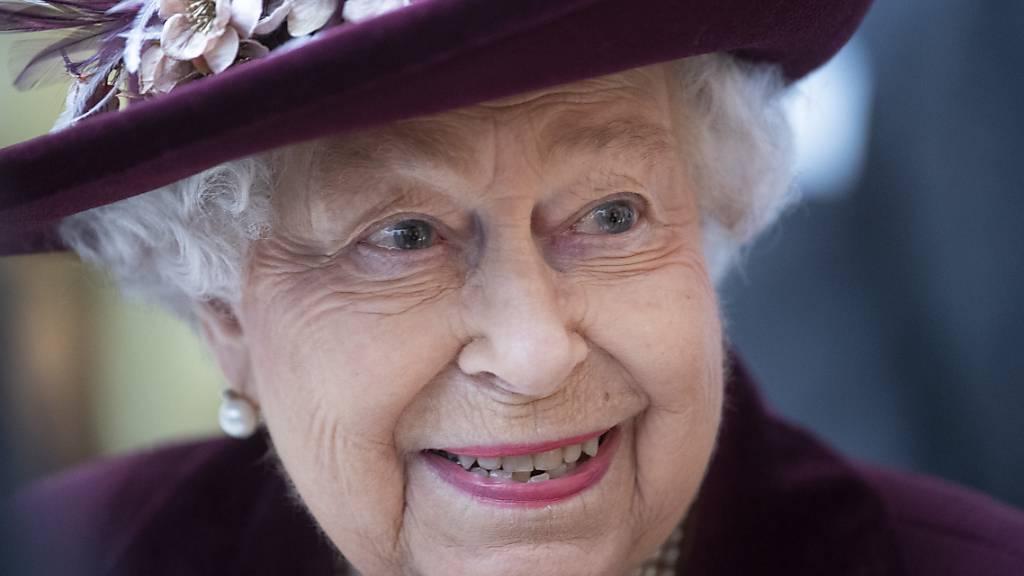 ARCHIV - Königin Elizabeth II. von Großbritannien wurde am 21.04.2021 95 Jahre alt. (Archivbild) Foto: Victoria Jones/PA Wire/dpa