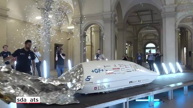 ETH-Studenten präsentieren Transportkapsel der Zukunft