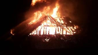 Brand Bauernhaus Fahrwangen