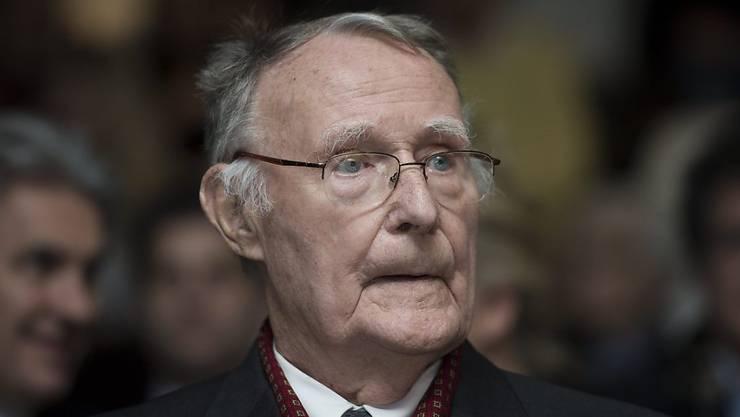 IKEA-Gründer Ingvar Kamprad ist tot. (Archivbild)