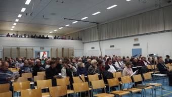 An der Gemeindeversammlung vom 23. November waren 146 Stimmbürger anwesend.