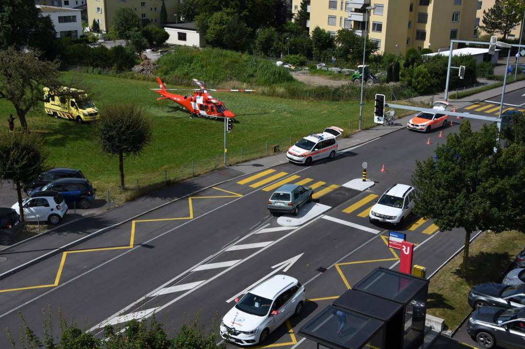 Unfall in Rapprswil