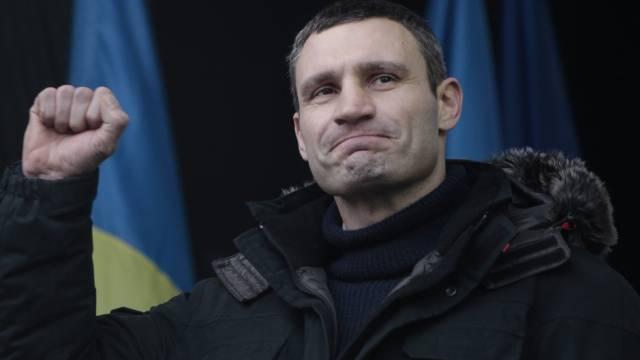 Will Proteste ausweiten:Oppositionsführer Vitali Klitschko.