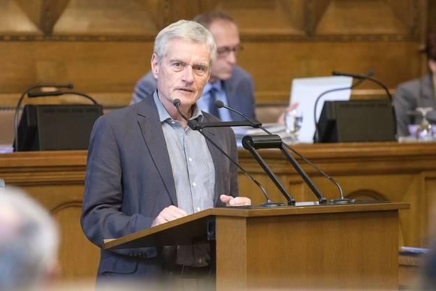 Michael Koechlin, LDP: «Habe nie viele Vorstösse lanciert»