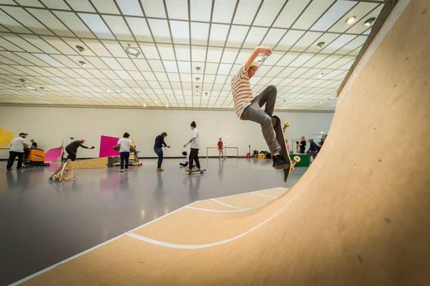 Der grösste Saal im Kunsthaus Zürich ist die Bühne
