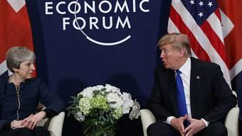 """""""Ich hätte beim Brexit eine härtere Haltung eingenommen"""": US-Präsident Donald Trump über das Vorgehen der britischen Premierministerin Theresa May. (Archivbild)"""