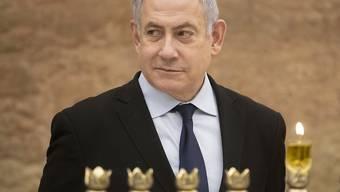 Der israelische Regierungschef Benjamin Netanjahu gewinnt die parteiinterne Abstimmung und bleibt Vorsitzender der rechtsgerichteten Likud-Partei. (Archivbild)