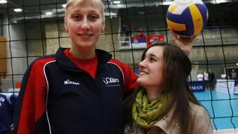 Nadine Jenny (rechts).