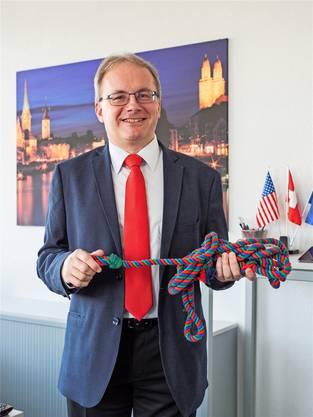 Hanspeter Hugentobler möchte für die EVP in den Regierungsrat.