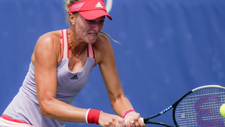 Kristina Mladenovic darf im Doppel nicht mehr antreten