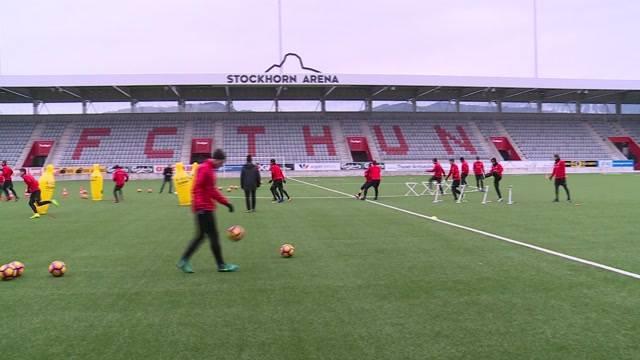 Trainingsstart für YB und FC Thun