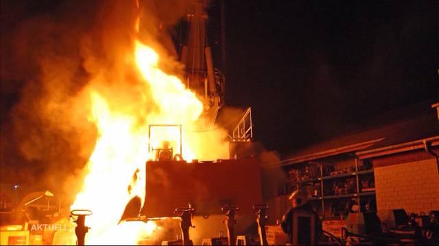Schon das zweite Feuer in einer Woche – Brandstiftung?