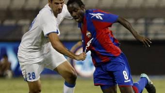 Seydou Doumbia vom Gegner kaum zu halten