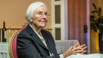 Luise Thut, Gründerin des ersten Hospiz im Aargau.