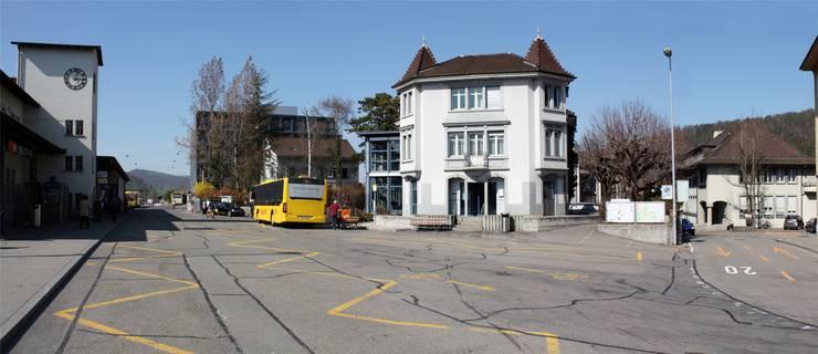 Der Liestaler Bahnhof wird nach dem Abschluss der Arbeiten kaum wiederzuerkennen sein.