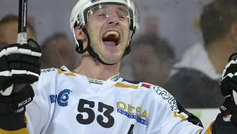 Doppeltorschütze im Mitteldrittel für Lugano: Brett McLean
