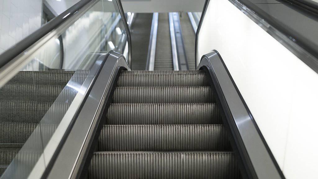 Die Lifte und Rolltreppen von Schindler waren im ersten Halbjahr gefragt. (Archivbild)