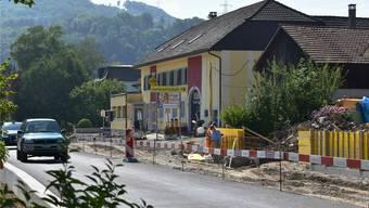 «Anker»-Wirt Sepp Hohler verzeichnet wegen der Baustelle vor seinem Restaurant Einbussen.