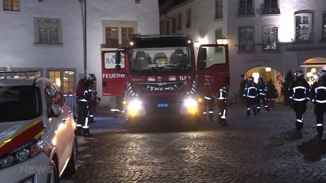 Rund 300 Einsätze pro Jahr für Thuner Feuerwehr