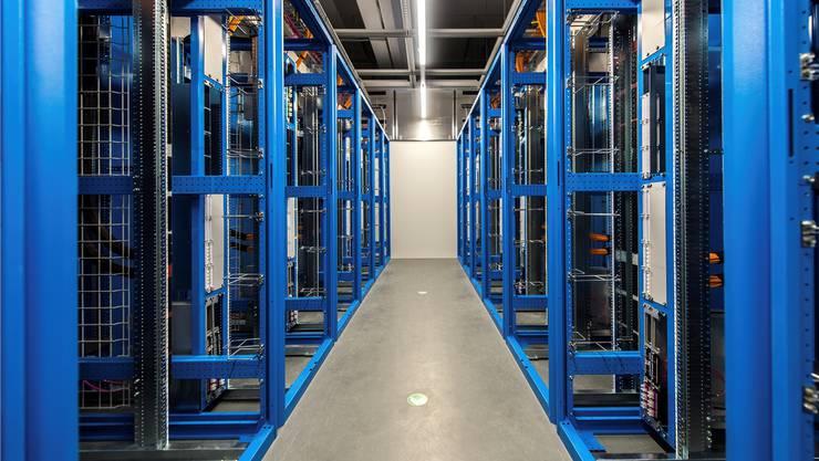 Ein Rechenzentrum der Swisscom.HO