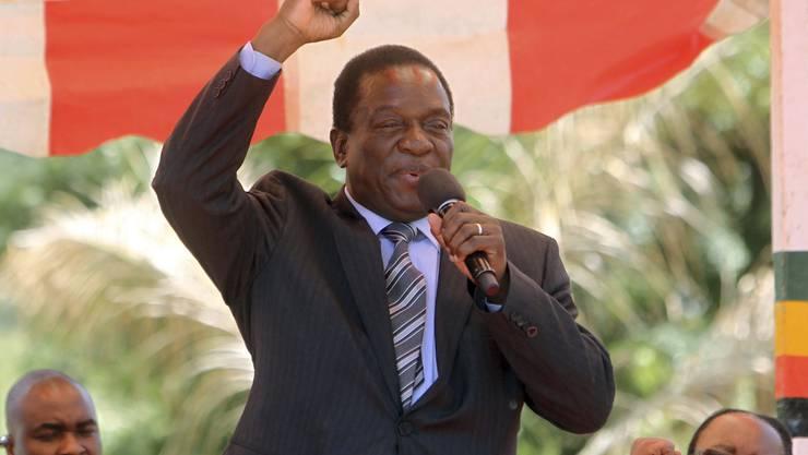 Vize-Präsident Emmerson Mnangagwa wird gefeuert