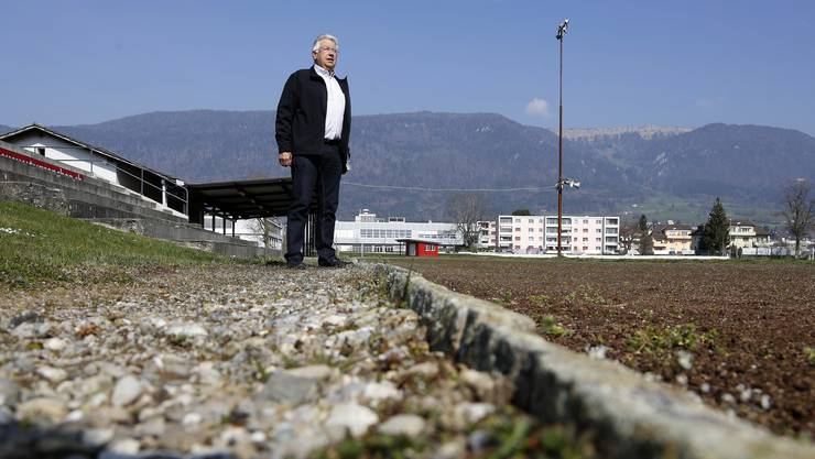 Robert Gilomen, Chef Ressort Stadion beim Turnverein Grenchen, kann positiv in die Zukunft blicken.