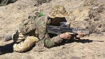 Ein Soldat traf aus 1000 Metern Entfernung. (Symbolbild)