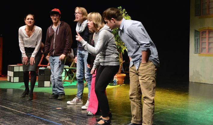 Das Theater «Nebenan» handelte von der Thematik Verdichtetes Wohnen.