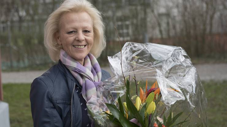Regina Jäggi wurde gestern 60.