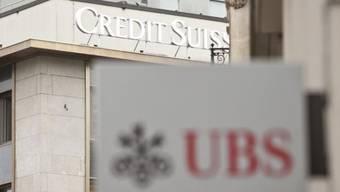 Mussten seit 2006 bluten: Credit Suisse und UBS.