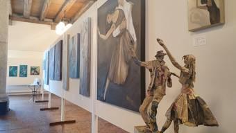 Casimera Romy Wyler widmet sich dem Motiv des Tanzes.