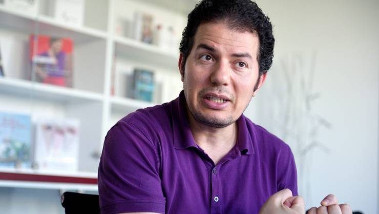 Vorwürfe in Richtung der deutschen Bundesregierung: Islamkritiker Hamed Abdel-Samad.