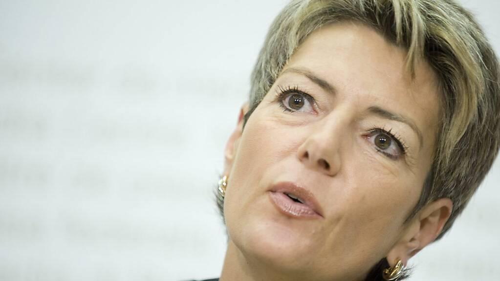 Die Schweiz bedauert die Versäumnisse der Schweizer Behörden bei Adoptionen aus Sri Lanka - Justizministerin Karin Keller-Sutter. (Archivbild)