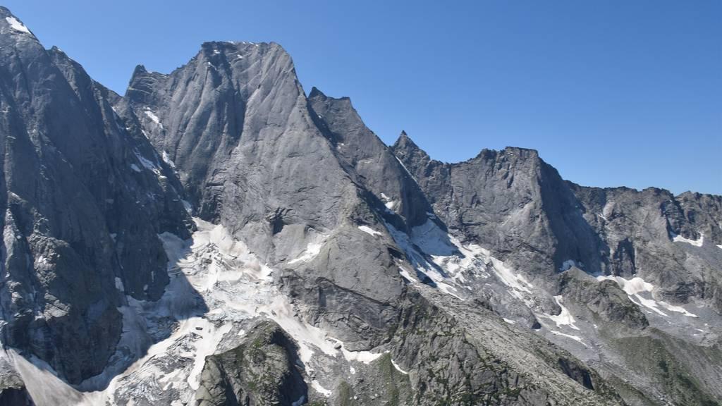 Zwei Alpinisten am Piz Badile abgestürzt