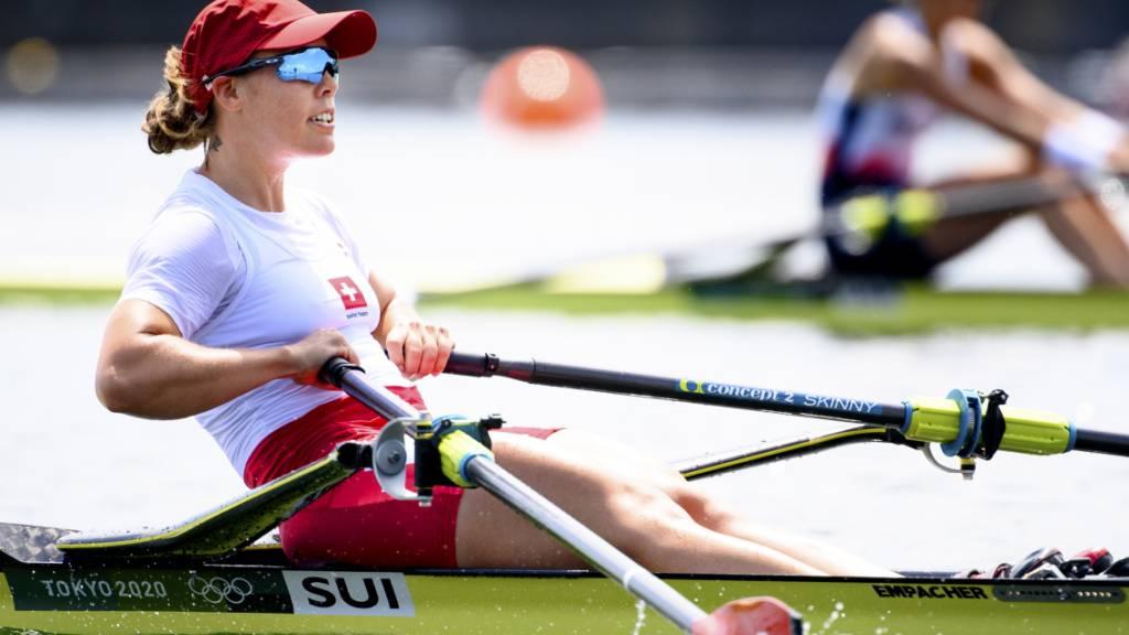 Gmelin rudert im Skiff-Final um die Medaillen
