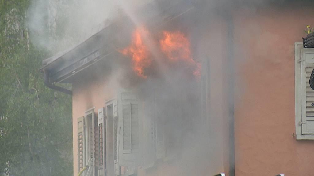 Vier Verletzte bei Brand in St. Gallen - Drei Personen vermisst