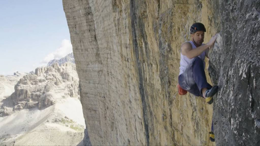 Ungesichert und in Rekordzeit: Dieser Urner rennt nur so den Berg hinauf!