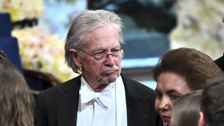 Wegen seiner Unterstützung für den Serbenführer und mutmasslichen Kriegsverbrecher Slobodan Milosevic umstritten: der diesjährige Literaturnobelpreisträger Peter Handke aus Österreich. (Archivbild)