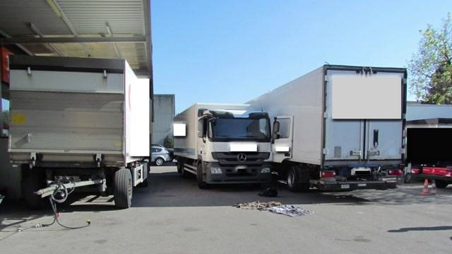Lastwagen-Unglück in Rupperswil