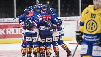 Die ZSC Lions feiern zuhause gegen den HC Davos einen verdienten 4:2-Sieg