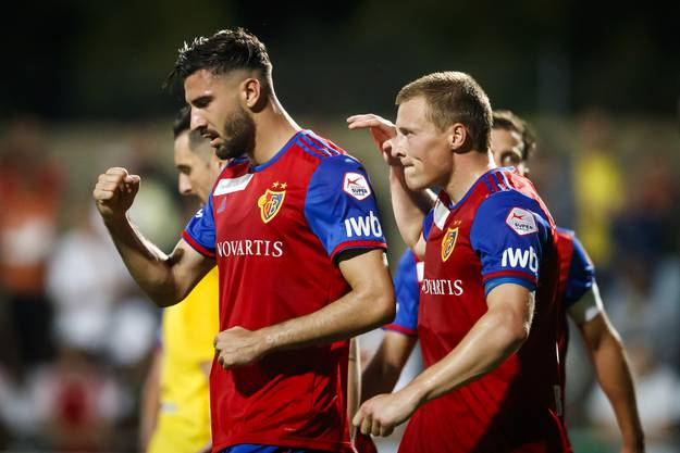 Erfolgreicher Abend trotz schwerem Start: Der FC Basel feiert seinen 3:0-Sieg bei Meyrin und zieht im Cup in die nächste Runde.