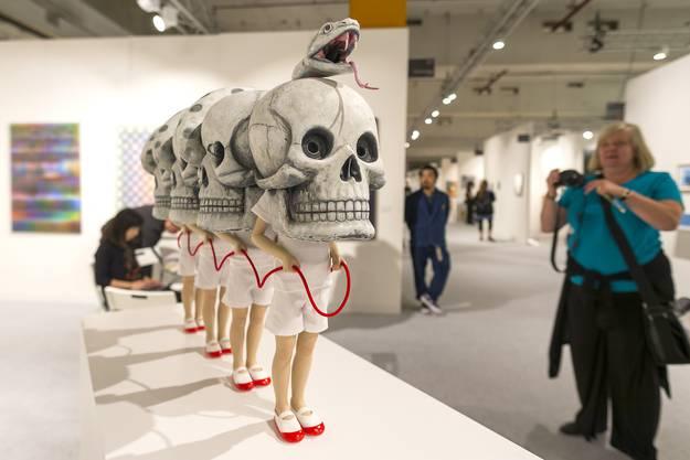 "Tezukayama, Osaka: Werk von Yoshiyuki Ooe ""Souvenir Jacket"", 2018"