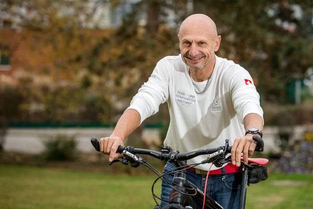 Der ehemalige Gemeindeammann von Bad Zurzach, Marcel Iseli, ist 80 Tage lang mit dem Velo von Moskau nach Peking geradelt. Das entspricht 7800 Kilometern.