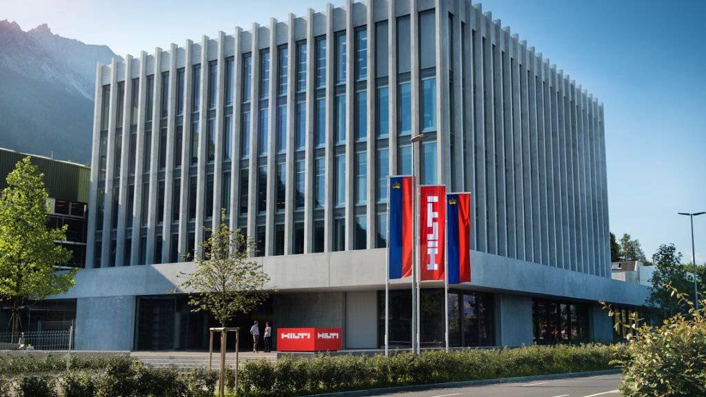 Der Liechtensteiner Hilti-Konzern ist mit seinen Baugeräten gut ins neue Jahr gestartet. (Archivbild)